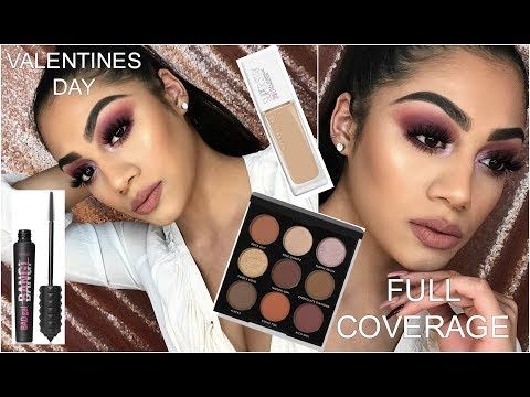 VALENTINES DAY FULL COVERAGE MAKEUP TUTORIAL| 2018 http://makeup-project.ru/2018/02/09/valentines-day-full-coverage-makeup-tutorial-2018/