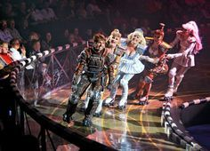 Starlight Express. All played out on roller skates. Amazing!