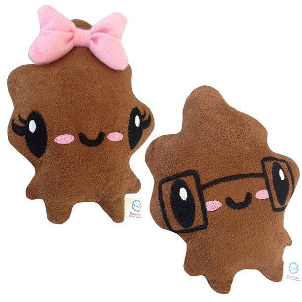 Cutie Poo Amp Smarty Poo Plushes Crafts Plush And Products