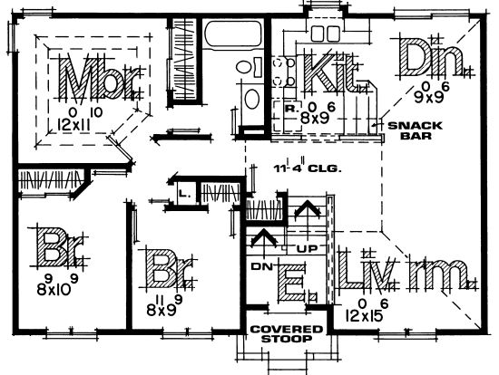 Plan maison 8x9 for Ici floor plans