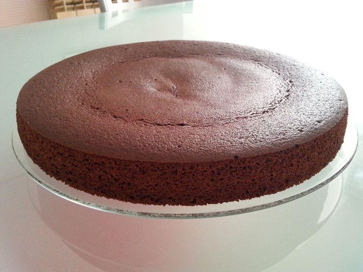 Torta cioccolato al micro  con tofu e  proteine polvere