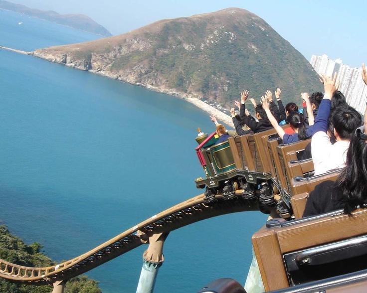 влакче: Hong Kong, Rollercoaster, Hongkong, Parks, Places, Travel