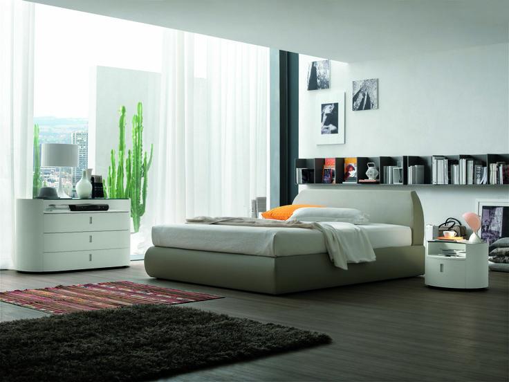 Fabulous Sasso Bed Modern Bedroom at Spazio di Casa