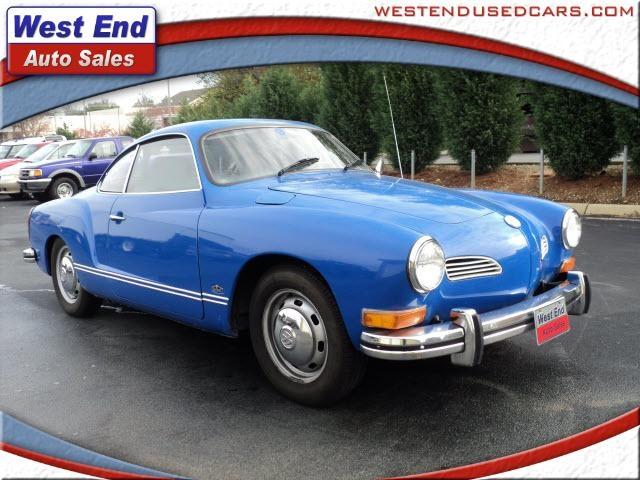 1972 Karman Ghia - always wanted one of these!