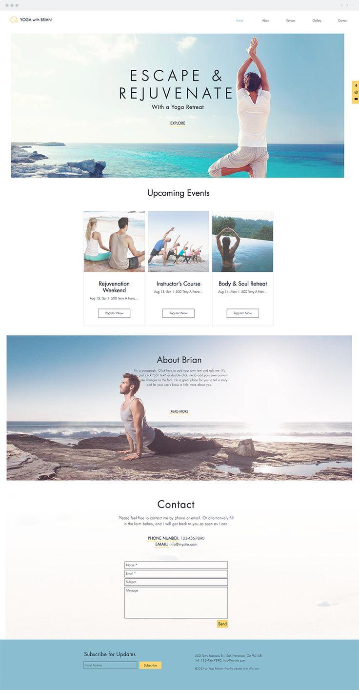 680 best wix website templates images on pinterest. Black Bedroom Furniture Sets. Home Design Ideas