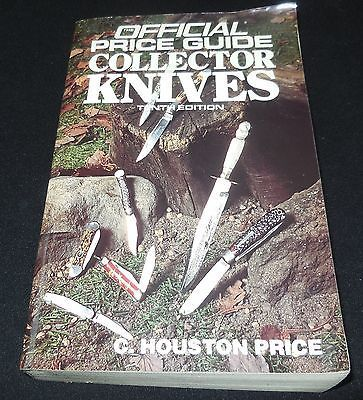 1993 Official Price Guide Collector Knives by C. Houston Price Softcover