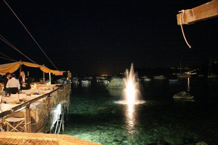 .pedana sul mare! Ristorante Il Pirata, UBais Chianalea di Scilla, (RC) ITALY www.ubais.it