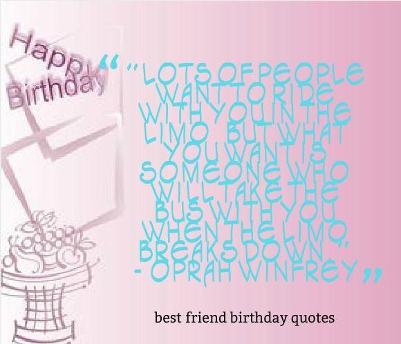 25+ Best Friend Birthday Quotes On Pinterest