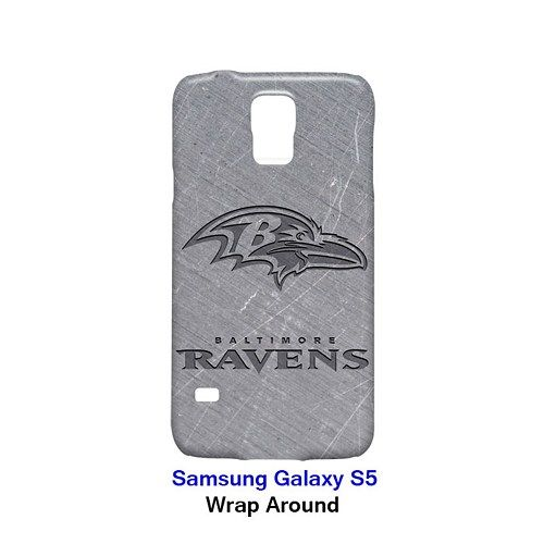 Baltimore Ravens Style Metal Case for Samsung Galaxy S5