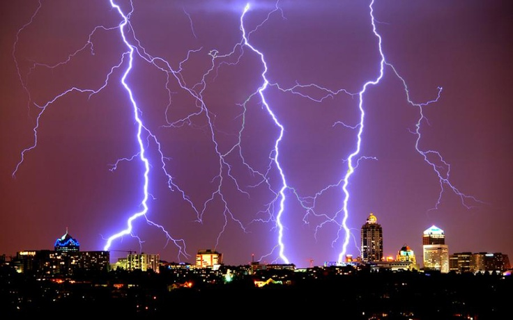 Skylines from Around the World -Johannesburg