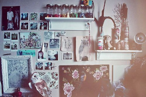 Hipster Bedroom @ 11 -> Tumblr Grunge Room Ideas