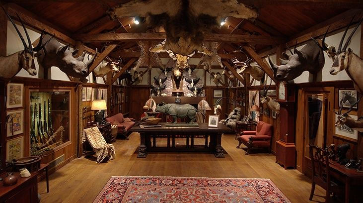 hunting cabin decor ideas interesting rooms pinterest hunting cabin decor hunting cabin and hunting - Lodge Decor