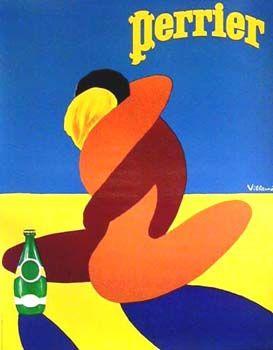 Villemot Perrier Poster