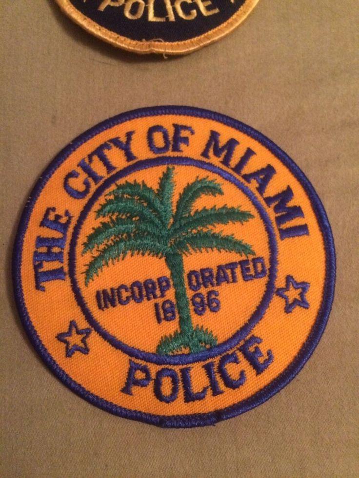 Florida police city of miami police fl police patch