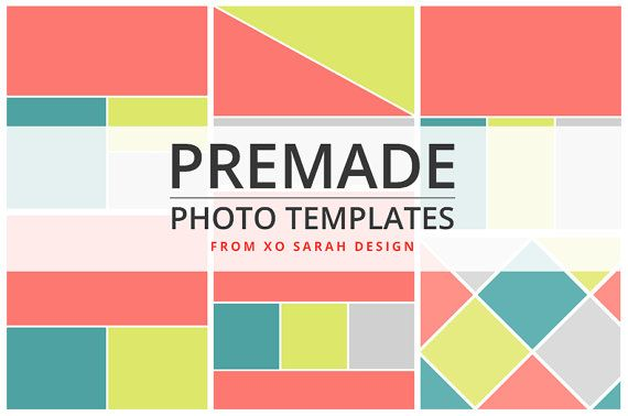 Photo Collage Templates: blogging, Blogger, Wordpress, photos, photography, pinterest, design