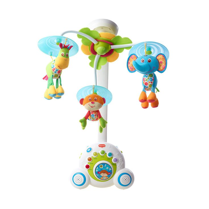 Soothe'n'Groove Mobile - Calm your baby with the soothing sounds of this colorful mobile. Whether the little one needs to be lulled to sleep or entertained for a bit in their crib, this happy little mobile is the perfect nursery accessory - $35.59