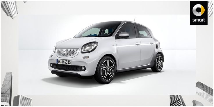 We're FOR more space and more equipment! Discover the new smart #forfour. http://po.st/ForFour