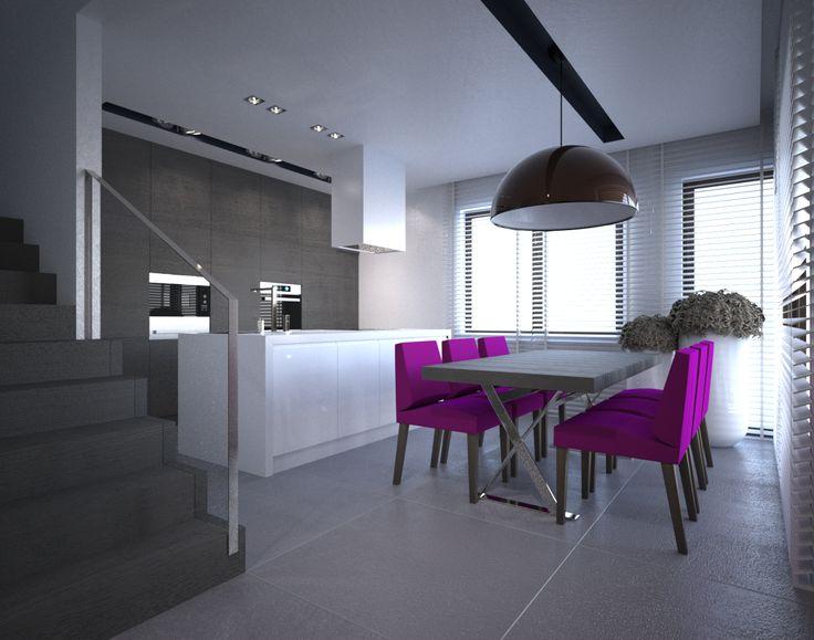 25+ parasta ideaa Pinterestissä Küche weiß grau - küche hochglanz grau