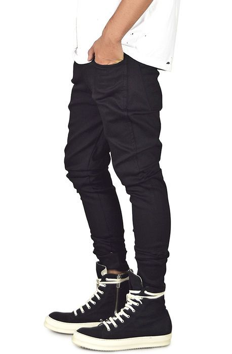 enslaved Denim Black Stacks Tapered Jeans Black - Karmaloop.com
