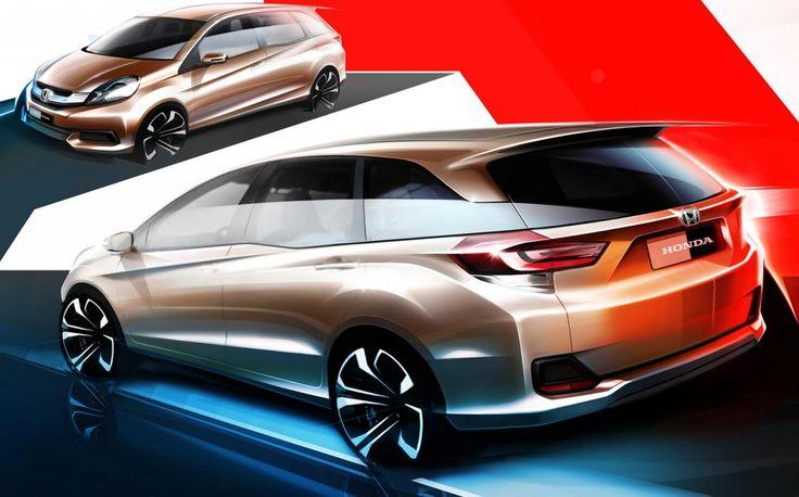 Honda entry-level MPV design sketch