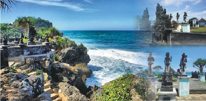 Pantai ngobaran yang merupakan balinya jogja