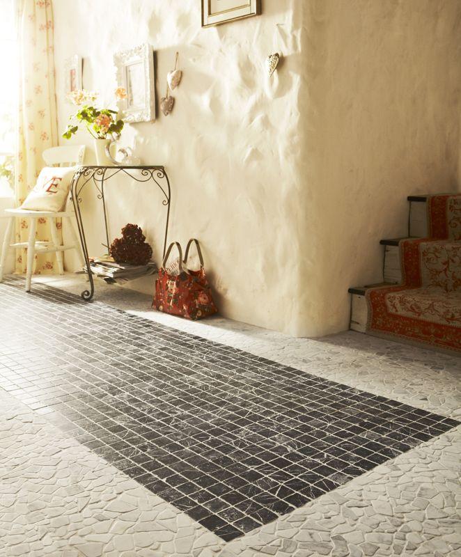 Marble White Fragment Mosaic Tile