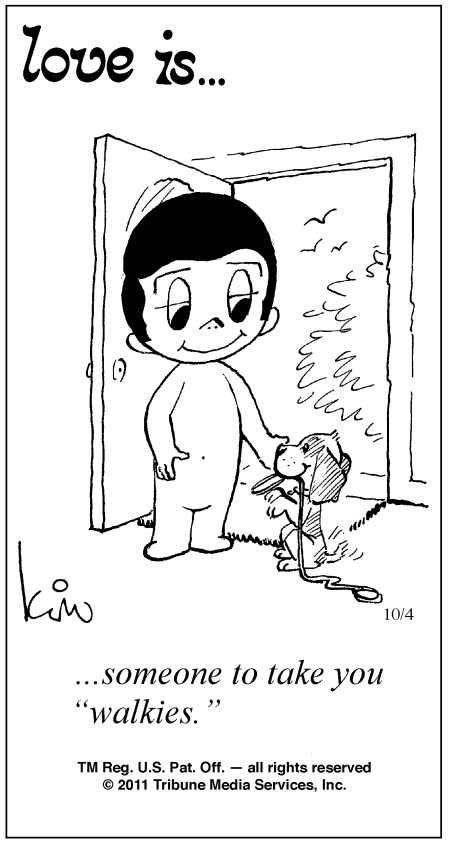 Love Is ... Comic Strip Kim Casali (October 4, 2011) 와와카지노와와카지노와와카지노와와카지노와와카지노와와카지노와와카지노와와카지노와와카지노와와카지노와와카지노와와카지노