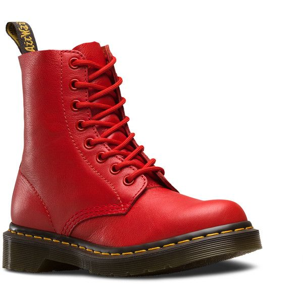 Dr. Martens Pascal Lace Low Boot ($135) ❤ liked on Polyvore featuring shoes, boots, ankle booties and buffalo blood red
