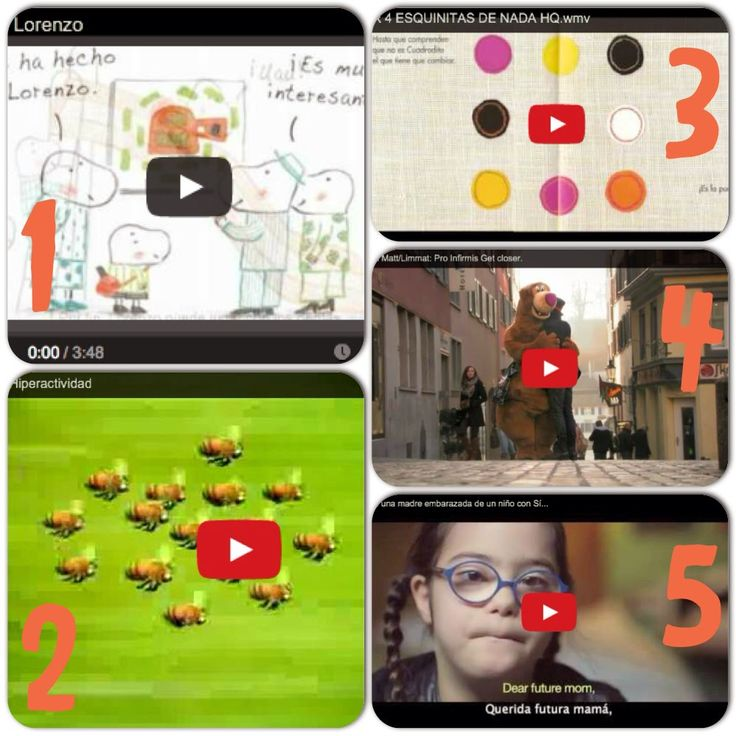 AYUDA PARA MAESTROS: 5 vídeos cortos para trabajar la atención a la div...