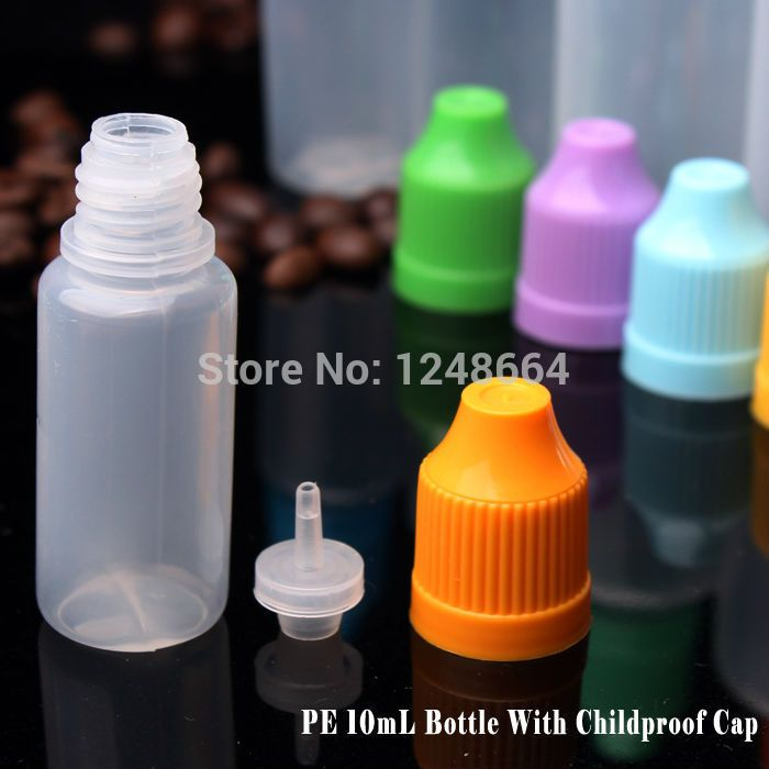 China wholesale 2000pcs 10ML plastic pe dropper bottle,liquid plastic containers,long thin tip with childproof cap fast shipping