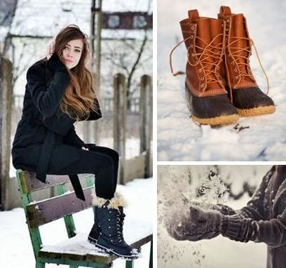 Here's a list of fashionable boots to keep you warm during our Geneseo Winters! (This one's for the ladies.)