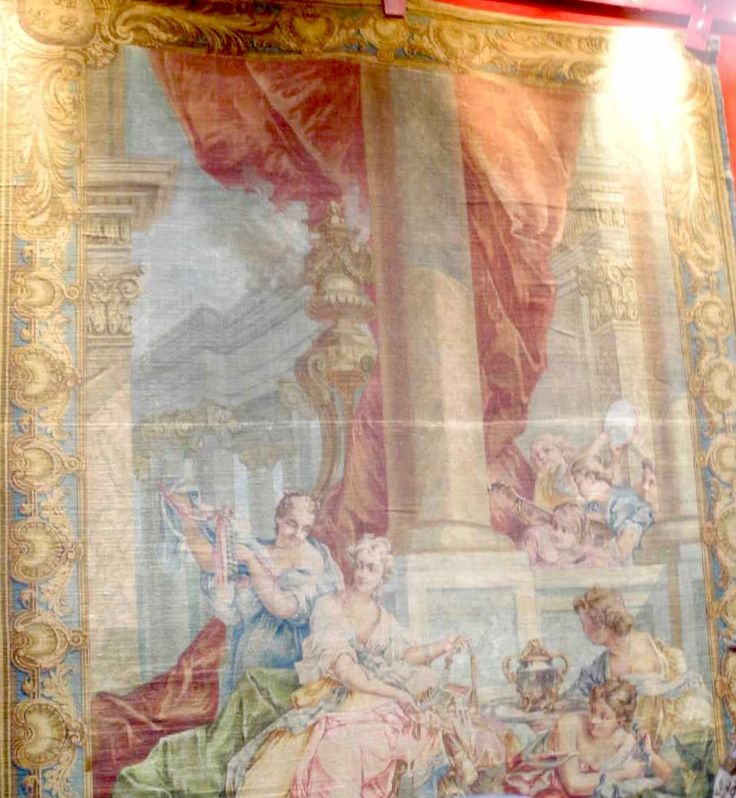 Important Carton De Tapisserie De Jacques Stauffacher, Art et décoration interieur, Proantic