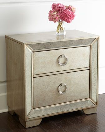 Lombard Nightstand at Horchow.