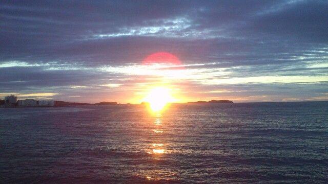 Puesta de sol ibiza cafe del mar