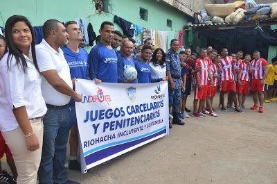 En Riohacha iniciaron Juegos Carcelarios y Penitenciarios