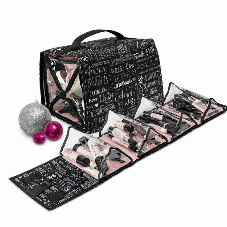 Give her a little something for when she's on the go. The Discover What You Love® Travel Roll-Up Bag can help her keep her Mary Kay® products safe and organized.