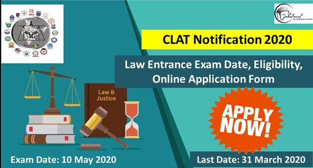 Online Application Forms Are Available For Clat 2020 Recently Clat Notification 2020 Has Been Issued By The Concerned Au Online Application Form Application Form University Exam