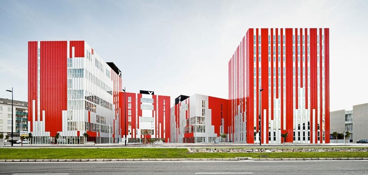 Guallart Architects Sharing Blocks: University Housing, Gandía, Valencia, Spagna