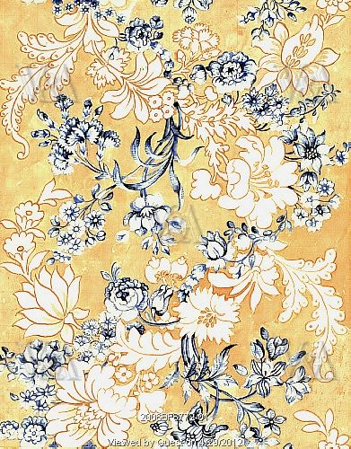 Design for woven silk, by Anna Maria Garthwaite (1690-1763). Spitalfields, London, England, c.1744.