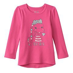 Toddler Girl Jumping Beans® Glitter Graphic Thermal Tunic