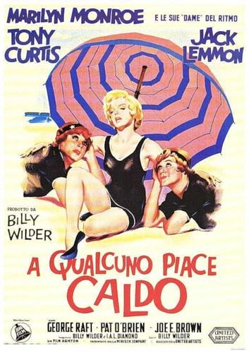 Vintage Posters - SOME LIKE IT HOT