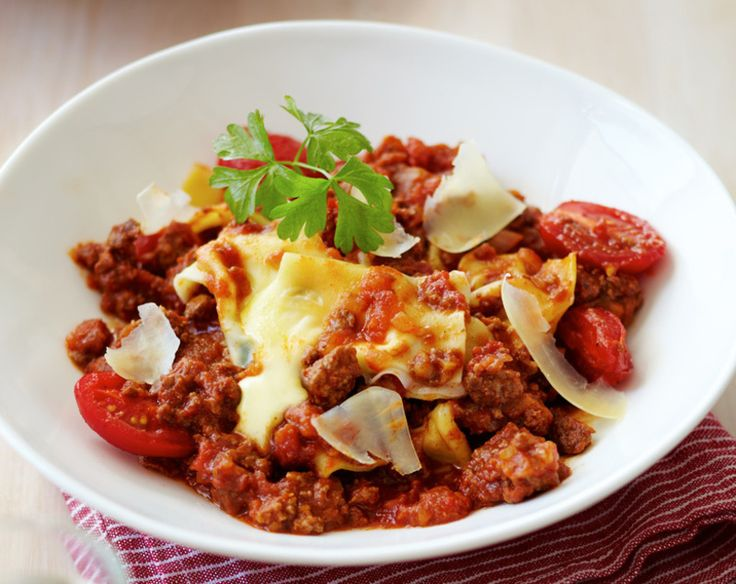 Tasty Mince with Creamy Mozzarella & Basil Parcels