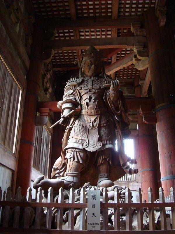 Todai Ji Nio Guardian Statue Todai Ji Temple The Biggest Buddhist Temple In Japan