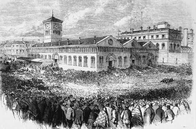 Violence & the Lancashire weaver's strike in 1878 - Blackburn