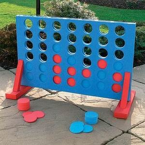 NEW LARGE CONNECT 4 IN A ROW GARDEN OUTDOOR GAME FAMILY FUN PUB BBQ PARTY | eBay £12.49 (free postage)