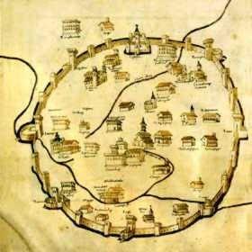 La mappa di Pietro del Massaio
