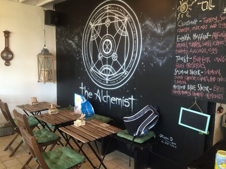 The Alchemist café, Wilton Manors, Broward county, Florida, USA. It's located at 2430 North East 13th Avenue & North East 24th Court in the Fort Lauderdale area. https://www.google.ca/maps/place/The+Alchemist/@26.158233,-80.1321637,17z/data=!3m1!4b1!4m5!3m4!1s0x88d90190ea3b24c1:0x8ea5f53d4b77d21a!8m2!3d26.158233!4d-80.129975
