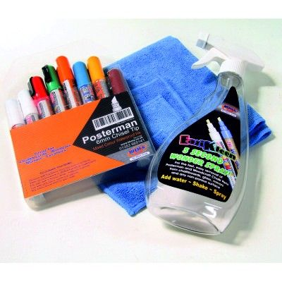 Mixed Waterproof Chalk Pen Kits