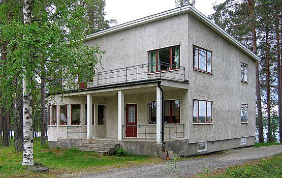 Putsad funkisvilla i Blattnicksele. Stilhistoria - 1930-1970