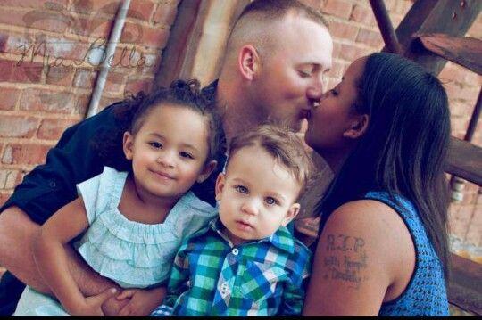 Beautiful interracial family #love #wmbw #bwwm♡